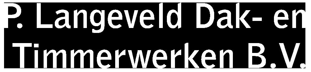 P. Langeveld Dak- en Timmerwerken